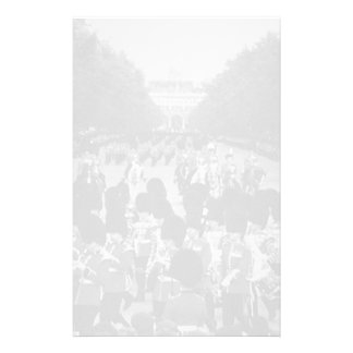 Vintage England Guards returning along the Mall 70 Personalized Stationery