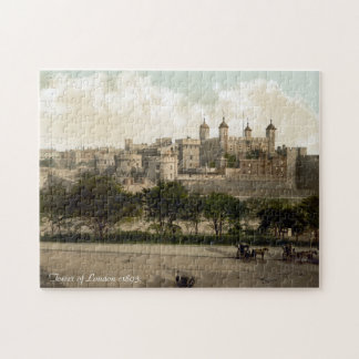 Vintage England jigsaw, Tower of London Puzzles