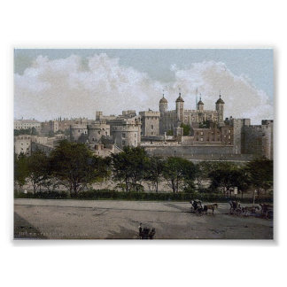 Vintage England  London Tower 1890'S Posters