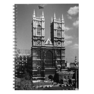 Vintage England London Westminster Abbey 1970 Notebook