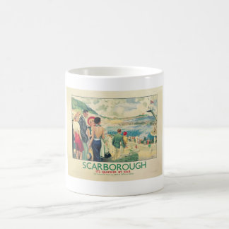 Vintage England scarborough Advert Coffee Mug