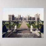 Vintage England, Windsor Royal Castle Poster