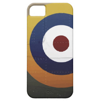 Vintage english aircraft roundel iPhone 5 cases