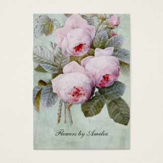Vintage English Rose Garden Botanical Chubby