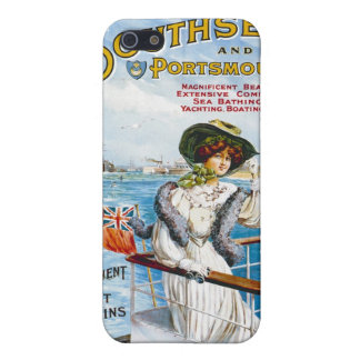 Vintage English Travel Poster Case For iPhone 5/5S