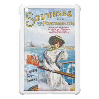 Vintage English Travel Poster Cover For The iPad Mini