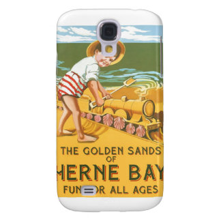 Vintage English Travel Poster Galaxy S4 Case
