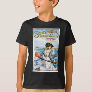 Vintage English Travel Poster T-Shirt