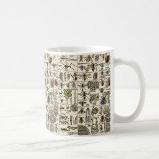 Vintage Entomology Coffee Mug