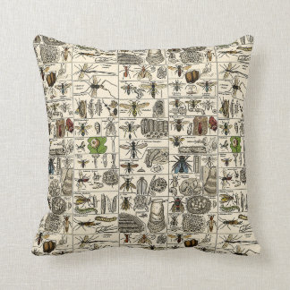 Vintage Entomology Cushion