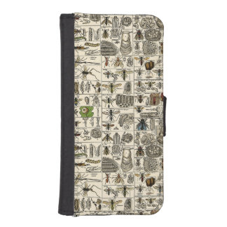 Vintage Entomology iPhone SE/5/5s Wallet Case