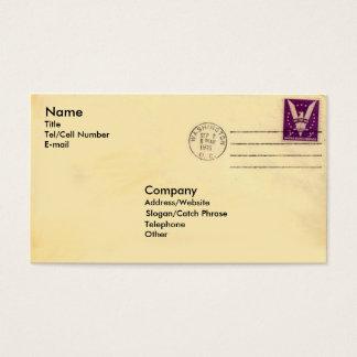 Vintage Envelope Business Card