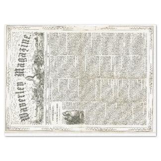 Vintage Ephemera Decoupage Paper