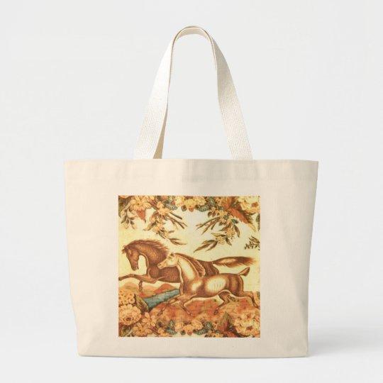 Vintage Equestrian Horse Bag