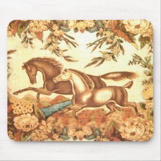 Vintage Equestrian Horse Mousepad 1