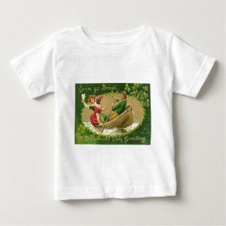 Vintage Erin Go Bragh St Patrick's Day Card Baby T-Shirt