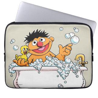 Vintage Ernie in Bathtub Laptop Sleeve