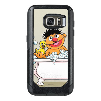Vintage Ernie in Bathtub OtterBox Samsung Galaxy S7 Case