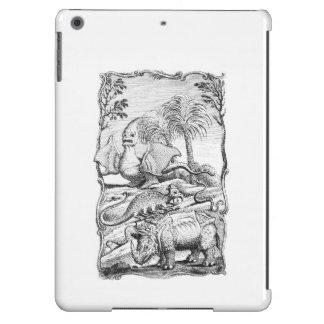 Vintage Erroneous Animal Illustration iPad Air Covers