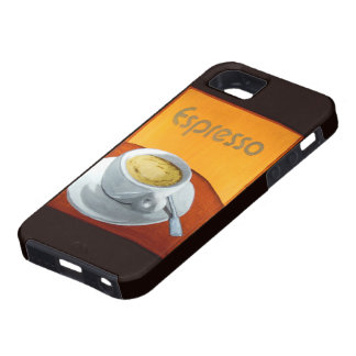 Vintage Espresso Coffee iPhone 5 Cases