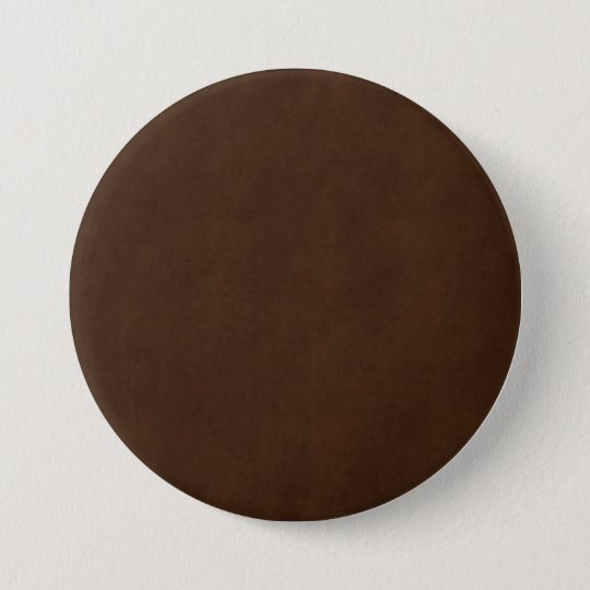 Vintage Espresso Dark Brown Parchment Paper Blank 7.5 Cm Round Badge