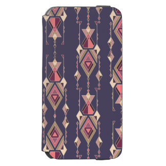 Vintage ethnic tribal aztec ornament incipio watson™ iPhone 6 wallet case