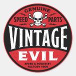 Vintage Evil 002A Stickers