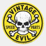 Vintage Evil 007A Sticker