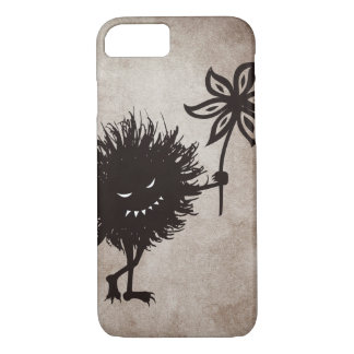 Vintage Evil Bug Gives Flower Halloween iPhone 8/7 Case