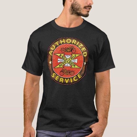 Vintage Excelsior Motorcycles sign T-Shirt
