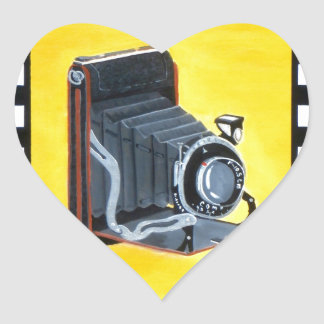Vintage Expandable Camera Stickers