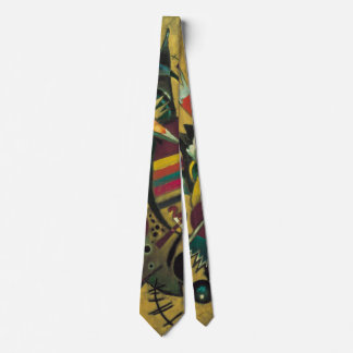 Vintage Expressionism, Points by Wassily Kandinsky Tie