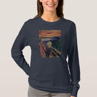 Vintage Expressionism, The Scream by Edvard Munch T-Shirt