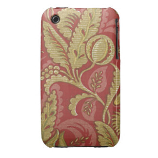Vintage Fabric (102) iPhone 3 Case-Mate Case