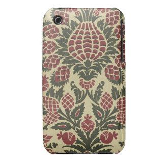 Vintage Fabric (11) iPhone 3 Case-Mate Case