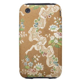 Vintage Fabric (123) Tough iPhone 3 Cases
