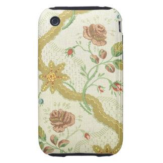 Vintage Fabric (125) iPhone 3 Tough Case