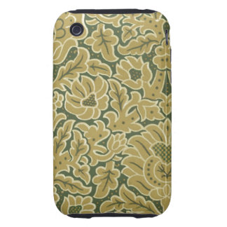 Vintage Fabric (126) iPhone 3 Tough Cover