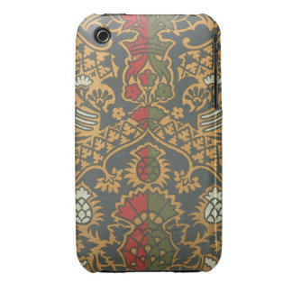 Vintage Fabric (157) Case-Mate iPhone 3 Case