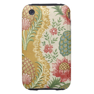 Vintage Fabric (97) Tough iPhone 3 Case