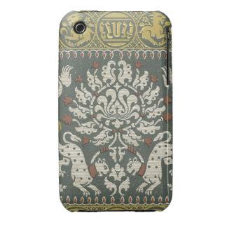 Vintage Fabric Case-Mate iPhone 3 Case
