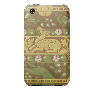 Vintage Fabric iPhone 3 Case