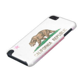 Vintage Fade California Flag iPod Touch (5th Generation) Case