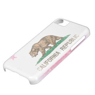 Vintage Fade California Flag iPhone 5C Case
