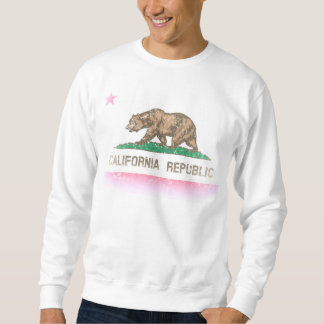 Vintage Fade California Republic Flag Sweatshirt