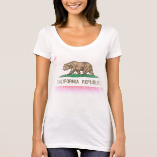 Vintage Fade California Republic Flag T-Shirt