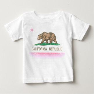 Vintage Fade California Republic Flag Tshirt