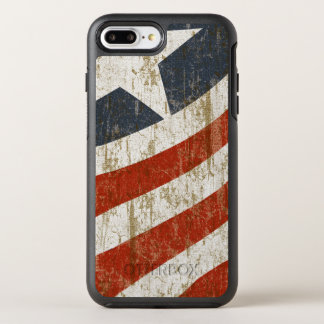 Vintage Faded American OtterBox Symmetry iPhone 8 Plus/7 Plus Case