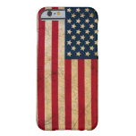 Vintage Faded Old US American Flag Antique Grunge iPhone 6 Case