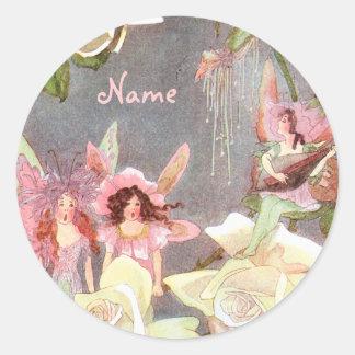 Vintage Faerie Custom Sticker